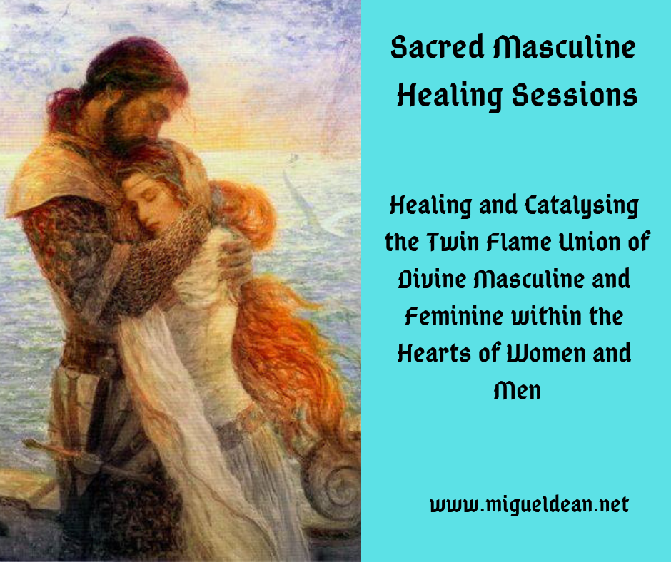 Sacred Masculine Healing Sessions - Union of Masculine and